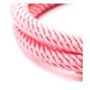 Bracelet ancre rose pale, détails