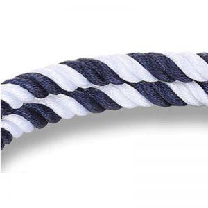 Bracelet ancre bleu et blanc - bracelet marin